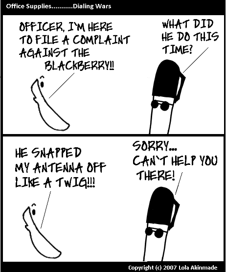 Office Supplies - Dialing Wars - Filing A Complaint